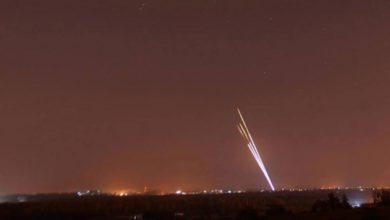 صورة الإحتلال الصهيوني يزعم إعتراض صاروخ أطلق من قطاع غزة