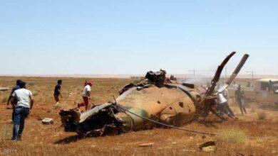 Photo of مصرع مرتزقة روس إثر تحطم مروحية عسكرية قرب قاعدة الجفرة الجوية وسط ليبيا