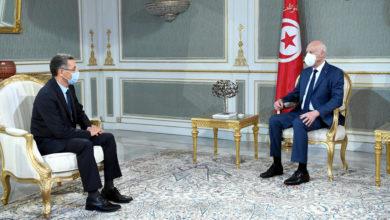 Photo of رئيس الجمهورية قيس سعيد يستقبل وزير الداخلية توفيق شرف الدين
