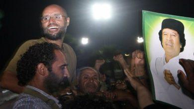 صورة نجل الزعيم الليبي الراحل معمر القذافي سيفوز في الانتخابات الرئاسية في حال ترشحه