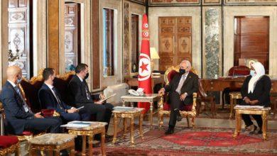 صورة رئيس مجلس النواب راشد الغنوشي: الديمقراطية في تونس هي ديمقراطية ناشئة تحتاج إلى مزيد الدعم والتطوير