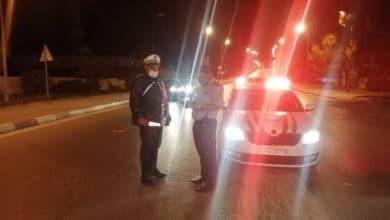 صورة بنزرت:مخالفة 31 شخص خرقوا قانون حظر الجولان