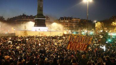 صورة مظاهرات عارمة في فرنسا دعماً لحرية الصحافة