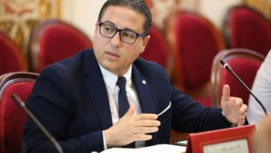 صورة العجبوني يُسائل وزير الداخلية فيما يخص ميليشيات حزبية أطلقتهاحركة النهضة