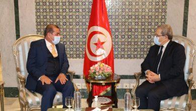 صورة الجرندي يؤكد على أهمية دفع العلاقات التونسية العراقية