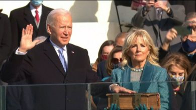 صورة تنصيب جو بايدن الرئيس الـ 46 للولايات المتحدة