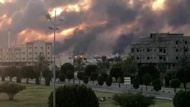 """صورة وكالة """"أسوشييتد برس"""": طائرات مسيرة إنطلقت من العراق هاجمت القصر الملكي السعودي"""