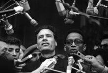 """صورة صدور الطبعة الأولى من كتاب """"القذافى وأمريكا عشرون عاما من الصراع 1969-1989"""""""