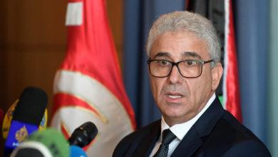 صورة نجاة وزير الداخلية الليبي من محاولة إغتيال إثر هجوم مسلح إستهدف موكبه غربي طرابلس