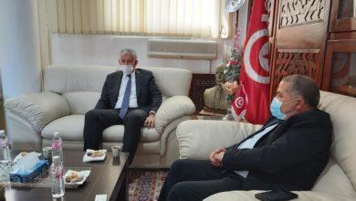"""صورة والي بنزرت محمد قويدر يستقبل سعادة سفير فرنسا الجديد """" اندري باران"""""""