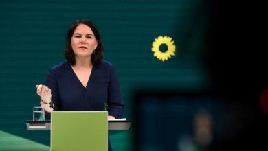 """صورة حزب الخضر الألماني يرشح """"أنالينا بيربوك"""" لخلافة المستشارةأنغيلا ميركل"""