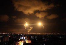 صورة دوي صفارات الانذار في مستوطنات الغلاف