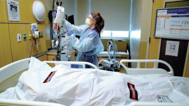 صورة الإصابات تناهز160مليون مصاب حول العالم والوفيات تقترب من 3ملايين ونصف