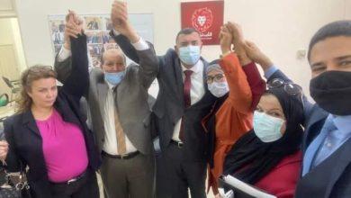 """صورة إجتماع """"النصر""""يعدّل موقف عياض اللّومي فيتراجع عن إستقالته ويترأس كتلة قلب تونس"""