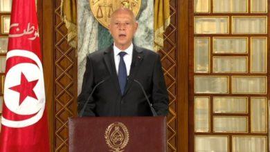 صورة كلمة رئيس الجمهورية قيس سعيد إلى الشعب التونسي بمناسبة عيد الفطر المبارك