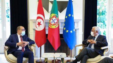 صورة فحوى مباحثات رئيس الحكومة بنظيره البرتغالي