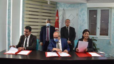 صورة الجامعة الوطنية لمؤسّسات البناء والأشغال العمومية تمضي اتفاقية شراكة ثلاثية