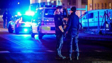 صورة سقوط ضحايا في إطلاق نار في السويد