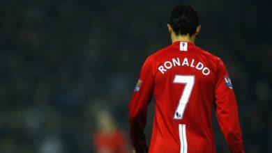 صورة كريستيانو رونالدو يستعيد رقم 7 بقميص مانشستر يونايتد