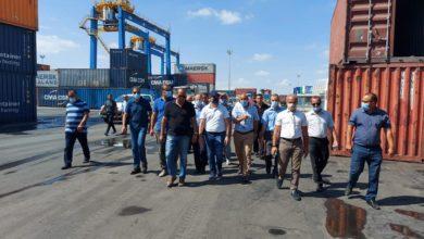 صورة قرارات عاجلة لوزير النقل من أجل تحقق المردودية المرجوة بميناء رادس خدمة للاقتصاد الوطني