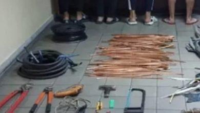 صورة كمين محكم يطيح بعصابة مختصة في سرقة أسلاك شركة اتصالات تونس