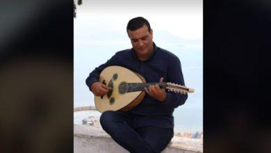 """صورة الموسيقار سميح المحجوبي في اختتام تظاهرة """"وتريات متوسطية"""""""
