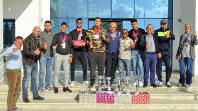 صورة حفل تكريم جمعية النادي الرياضي للمصارعة بدوار هيشر