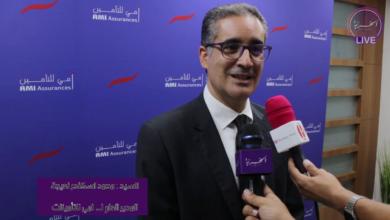 صورة حوار مع المدير العام لشركة آمي للتأمين محمد اسكندر نعيجة